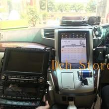 12,1 дюймов вертикальный tesla стиль Android 8,1 автомобильный dvd-плеер gps для Toyota Alphard Vellfire 20 серии 2007- PX6 carplay радио ips