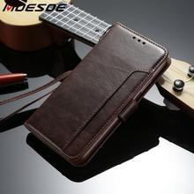 Кожаный чехол бумажник с откидной крышкой для Samsung S9 S10 Plus Note 10 Pro, мульти держатель для карт, чехол накладка для iPhone XR X XS Max 7 8 6 6s Plus SE