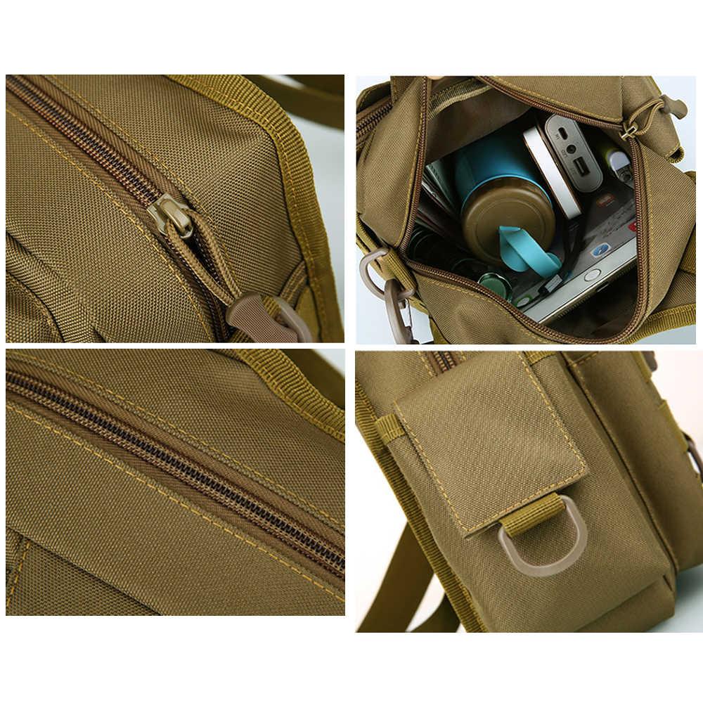 Details about  /Sling Bag Men Travel Tote Molle Backpack Waterproof Fishing Gear Holder