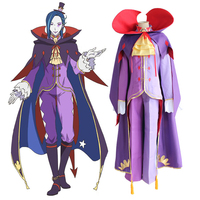 Anime Re:ZERO Starting Life in Another World Cosplay Costumes Roawaal L Mathers Cosplay Re:Zero Kara Hajimeru Isekai Seikatsu