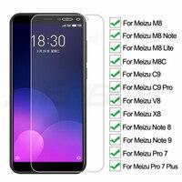 9H Vetro di Protezione Sul Per Meizu C9 Pro M8 Lite M8C X8 M8 Nota 8 9 V8 Pro 7 più Temperato Schermo di Protezione In Vetro Pellicola Caso