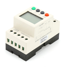 цена на 3 Phase Voltage Monitoring Sequence Relay LCD Voltage Protection Relay Under Over Voltage Protect JA55