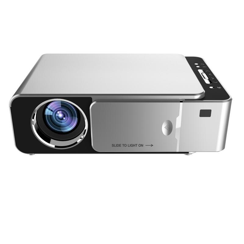 T6 lcd проектор 1280P HD 3500 люмен Мини светодиодный 3D проектор домашний кинотеатр проектор bluetooth wifi USB HDMI VGA 1 + 16G Android Версия