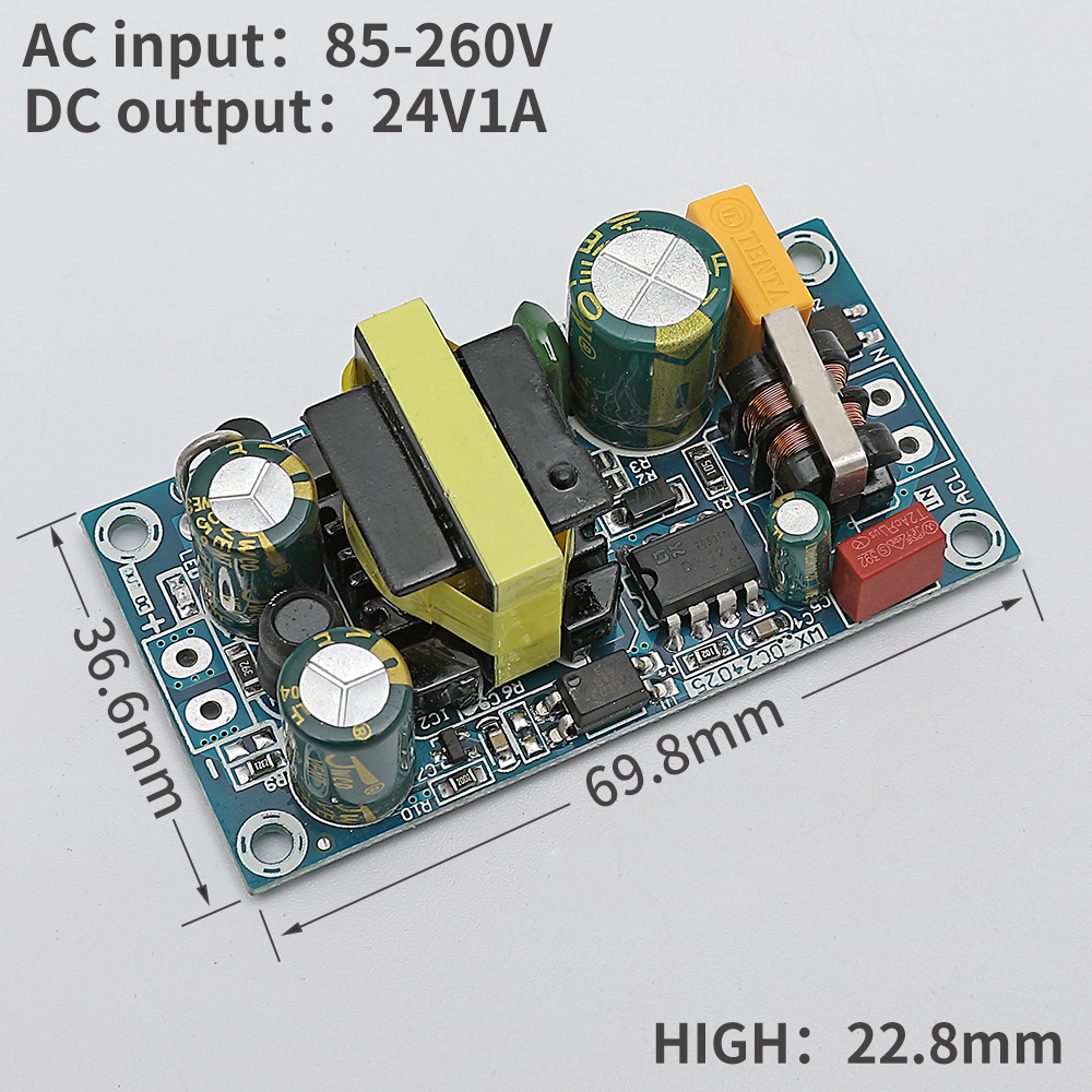AC 220 V to 24V high power switch template regulated power supply 500W 300W 250W 10W