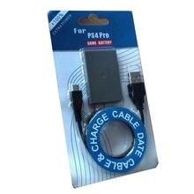 Para sony ps4 pro bateria 2000 mah bateria recarregável + cabo carregador usb sem fio controlador li ion bateria de lítio substituição bateria