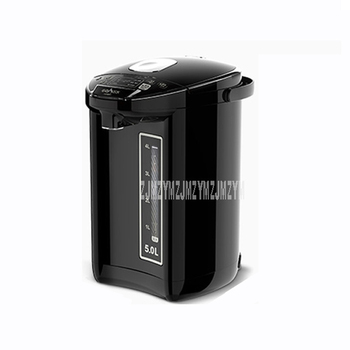 HX-K502D 5L 850W 304 Stainless Steel Automatic Intelligent Electric Air Pot Keep Warm Temperature Control Water Boiler Kettle