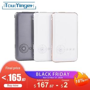 Image 1 - 5000mah Touyinger Everycom S6 플러스 피코 포켓 휴대용 프로젝터 스마트 폰 안 드 로이드 dlp wifi 미니 led 안 드 로이드 AC3 블루투스