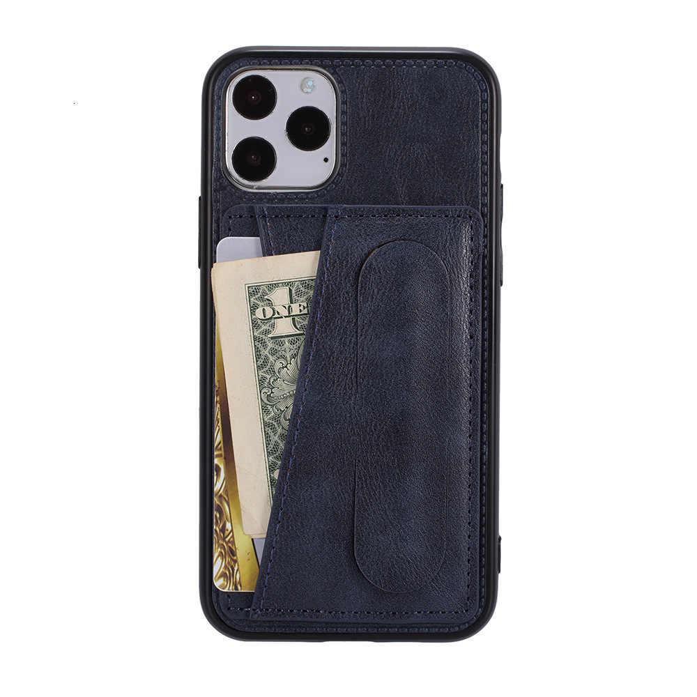 Córtex aplicar iphone11pro plug-in suporte de cartão de mão escudo apple xsmax defesa queda cor sólida conjunto de telefone móvel