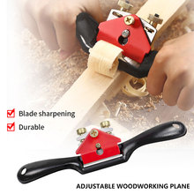 1pc Adjustable Hand Planer Spokeshave Woodworking Bird Plane Trimming Domestic Carpenter Screw Wood Cutting Edge Chisel Tools