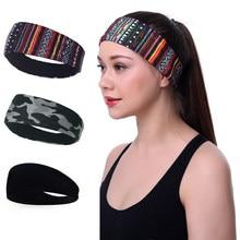 Vrouwen Sport Hoofdband Stretch Elastische Mannen Yoga Running Haarband Voor Mannen Outdoor Sport Headwrap Fitness Sport Yoga Haarband