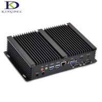 Industrial Fanless Mini PC with 2*COM i7 CPU intel Quad Core 8565U plus HDMI VGA Mini Comuputer 8MB Cache up to 4.6GHz