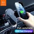 Mcdodo 15W rapide Qi support pour téléphone de voiture chargeur sans fil automatique gravité évent support pour iPhone 11 X Huawei xiaomi dans la voiture