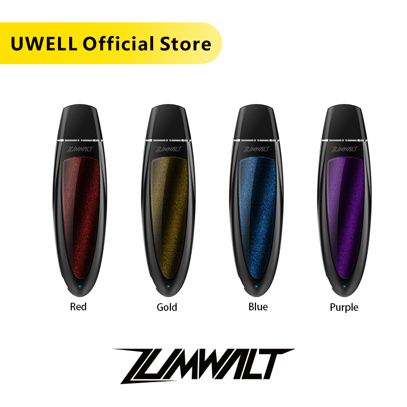 UWELL Zumwalt Pod System Vape Kit 13 W 520 MAh Battery 1.6 Ml Capacity 1.2 Ohm Electronic Cigarette Draw-activated Vaporizer