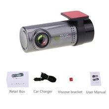 цена на Mini WiFi Car DVR Camera Dashboard 360 degree HD 720P Video Recorder Auto Front Dash Cam Digital Registrar Camcorder