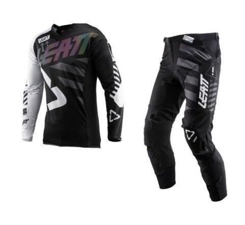 2019 GPX 5.5 Motocross ensemble de vitesse 4 Kleuren MX Moto Kits vtt Dirt Bike leatt Jersey En Broek Supercross enduro Jersey ensemble