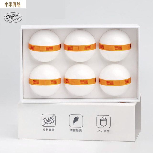 Youpin Clean Fresh Shoes Deodorant Dry Deodorizer Air Purifying Switch Ball Shoes Eliminator for Xiaomi Home Shoes 1