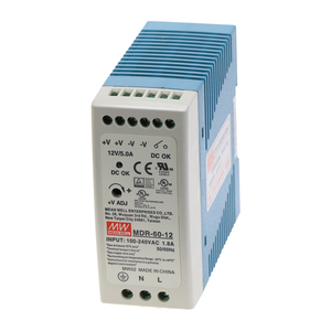 Image 2 - MDR 60 60W MEAN WELL Single Output 5V 12V 15V 24V 36V 48V Industrial  Din Rail Switching Power Supply AC/DC MDR 60 5/12 /24/48