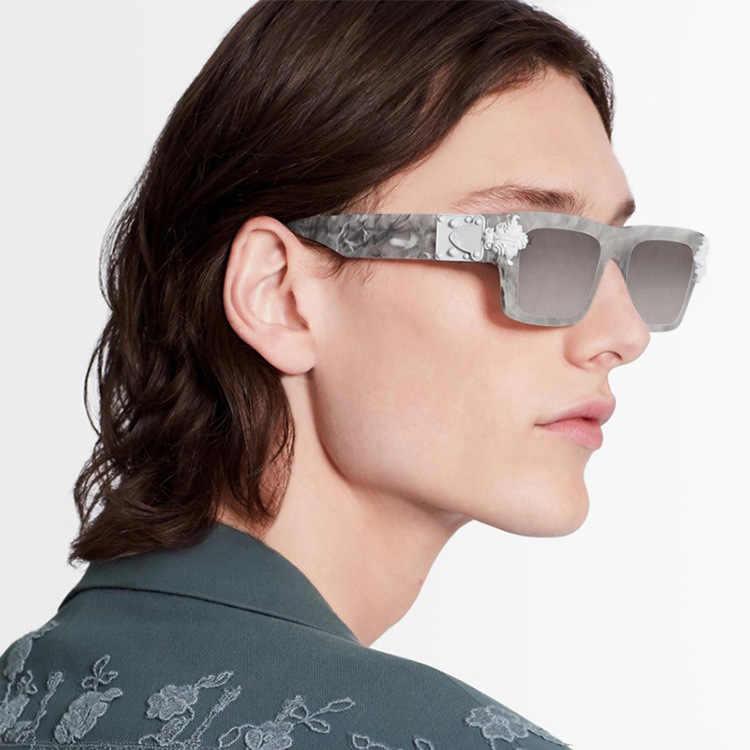 2020 europa e In America Wu Yifan Stile di Un Personaggio Famoso L Moderna Casa di Moda Piccola Cornice Occhiali Da Sole Retrò Uomini e Donne tendenza Della Caramella S