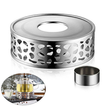 Warmer Teapot-Holder Heating-Base Trivets Tea-Pot Stainless-Steel Durable