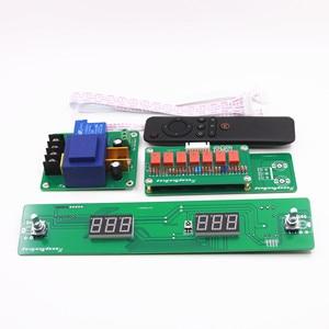 Hi-Fi 128 шагов пульт дистанционного управления громкостью реле чистый резистор шунт DIY предусилитель аудио 4 вход дороги 1 выход дороги