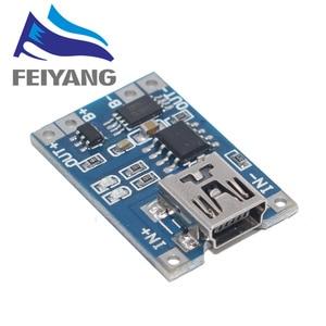 Image 4 - 100Pcs מיקרו USB 5V 1A 18650 TP4056 ליתיום סוללה מטען מודול טעינת לוח עם הגנה כפולה פונקציות 1A ליתיום