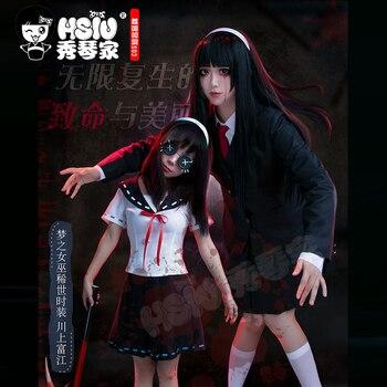 HSIU Identity v Cosplay Ito Junji Kawakami Tomie Dream Witch Wig ropa falda japonesa uniforme escolar