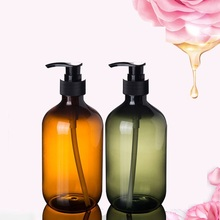 300/500ML Pump Bottle Makeup Bathroom Liquid Shampoo Bottle Travel Dispenser Bottle Container For Soap Shower Gel 180ml alcohol and liquid container bottle blue