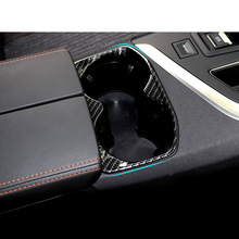 Lsrtw2017 Abs Car Central Control Cup Slot Frame Trims for Peugeot 3008 5008 2019 2020 Accessories