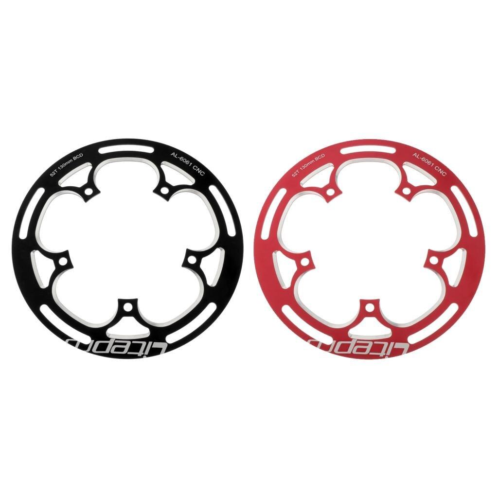 Купить folding bike  chainwheel 52/53t defend chainring protect 130bcd
