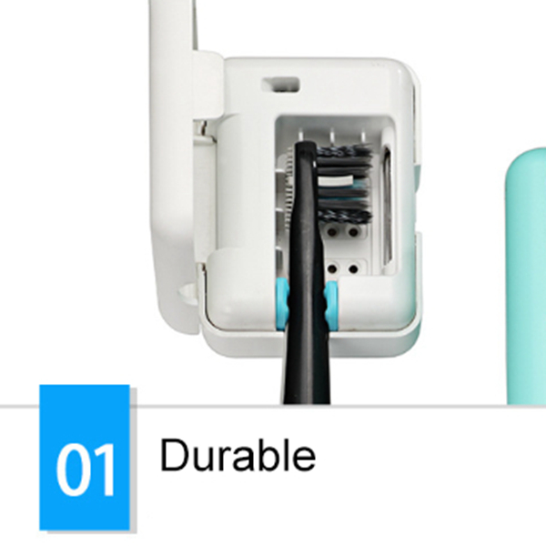 Daily UV Toothbrush Disinfection Machine Portable Electric Toothbrush Disinfection Cap(2PCS)