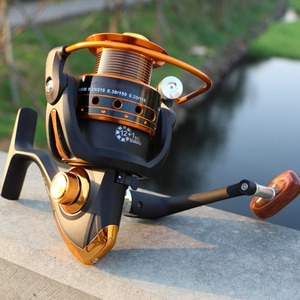 yomoshi AX500-7000Series Spinning Carbon Fiber Drag Ultralight Freshwater Fishing Reel 12+1BB Spin Plastic with Metal Rocker Arm(China)