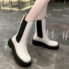 Женские ботинки повседневные ботильоны на платформе модные брендовые