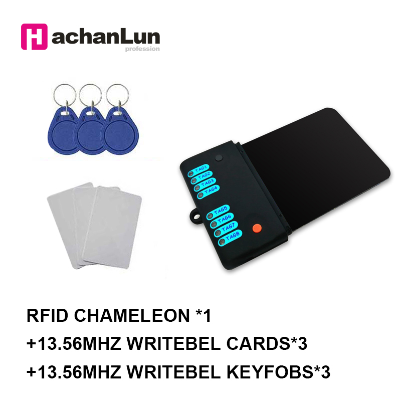 HaChanLun New Proxmark Access Control Card Duplicator RFID 13.56MHZ Full Encryption Crack NFC Smart Chip Card Writer