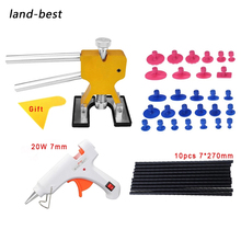 Dent Repair Tool Sets Dent Lifter Puller Tools Practical Cars Dent Removal Tool Kits Extractor Hail Tabs Car Hand Tool Kit cheap CN(Origin) Dent Removal Tools Set