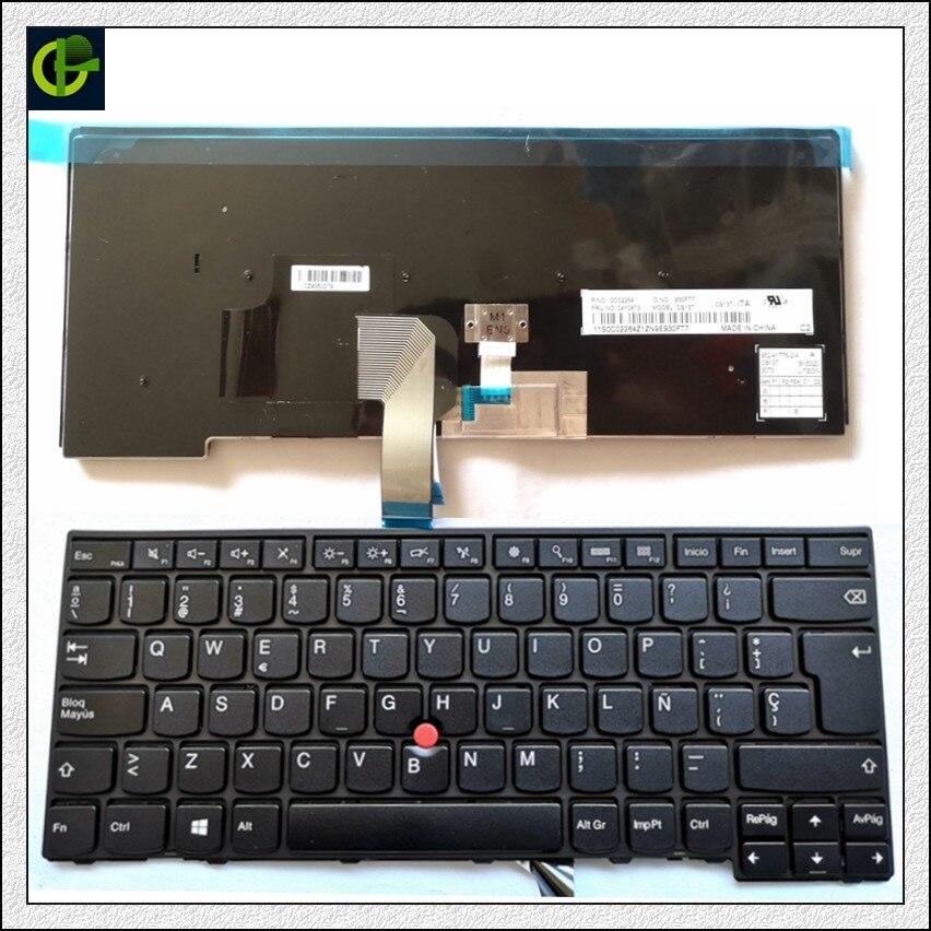 Typiquement Espagnol Clavier pour lenovo ThinkPad L440 L450 L460 L470 T431S T440 T440P T440S T450 T450S e440 e431S T460 SP Latin LA