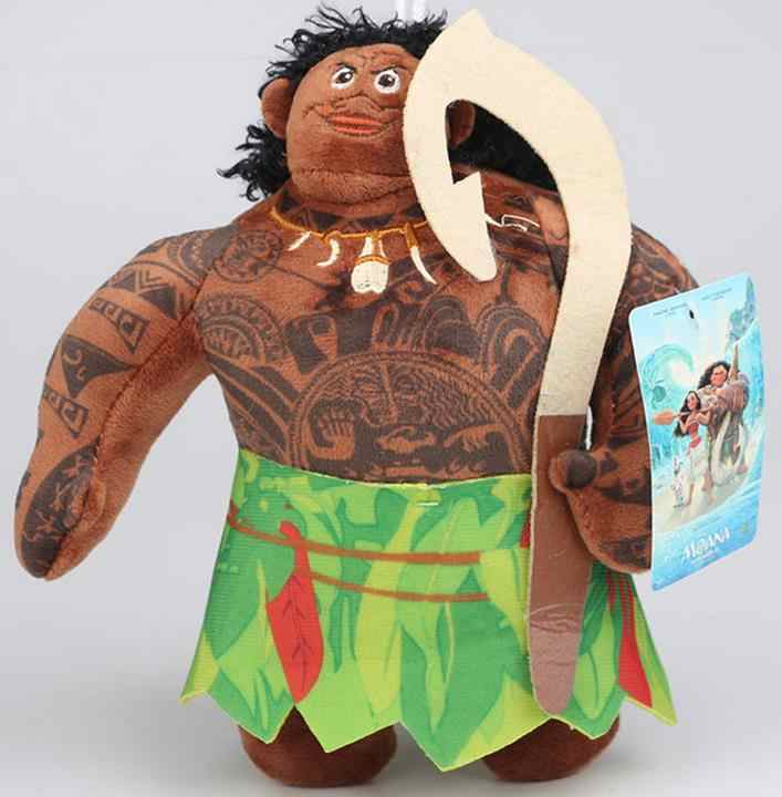 Nouveau océan romance moana princesse moana poupée maui peluche figurine cochon poupées princesse jouets doux animaux en peluche poupée enfants