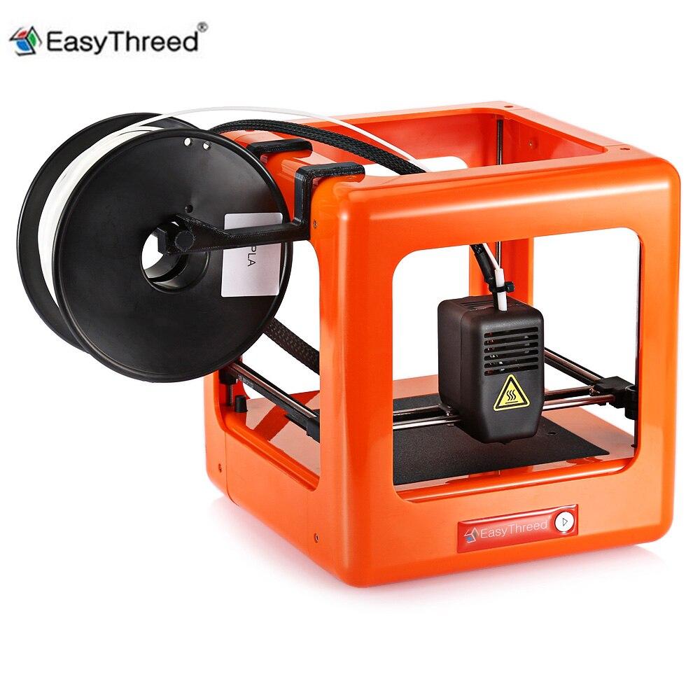 Easythreed NANO 3D Printer Mini Educational Household DIY Kit 3D Printer One Key Printing Machine for Child Christmas Gift