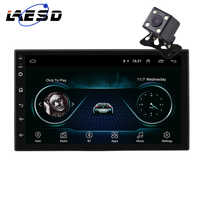 LAESD Android 8.1 2 Din Car radio Multimedia Video Player Universal auto Stereo GPS Navigation MAP for old version car Autoradio