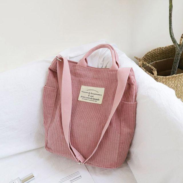Large Capacity Cloth Handbag  women 2
