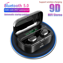 TWS Bluetooth Earphone Bluetooth 5.0 Wireless Headphones Earbuds Wireless charging digital Display  with Microphone Stereo Bass стоимость