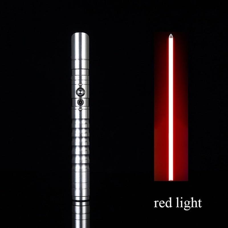 LED Lightsaber Metal Sword Laser Wars Cosplay Light Saber Toy Luminous Kids Gift Light Outdoor Creative Toys
