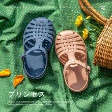 Pantoufles romaines d'été pour garçons et filles, sandales de plage souples et antidérapantes, chaussures de princesse pour enfants