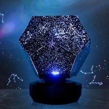Шестигранник Забавный Звездный светильник s DIY домашний планетарий музыкальная шкатулка Bluetooth проектор светильник светится в темноте лучший рождественский подарок