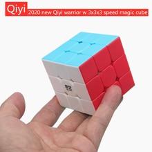 Qiyi mágico cubo Qiyi Warrior W cubo 3x3x3 velocidade cubo mágico stickerless 3*3*3 quebra-cabeça cubo mágico brinquedos educativos puzzle cubo magico profissional cubo magia Qiyi Magic cube Qiyi Warrior W cube 3x3
