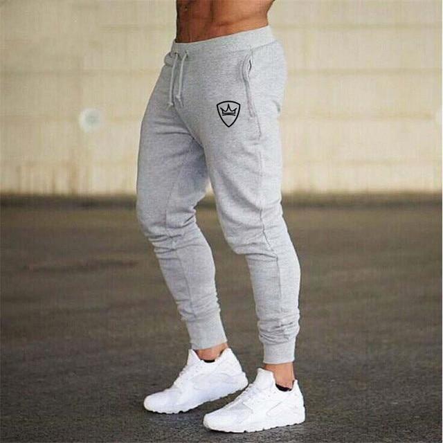 2019 men's trousers new fashion jogging pants men's casual sports pants bodybuilding fitness pants men's sports pants XXL 4