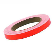Red Lining Reflective Vinyl Wrap Film Car Sticker Decal Strip Cover PVC 15mm X 10m Waterproof Anti-fouling UV Resistant 0.3mm