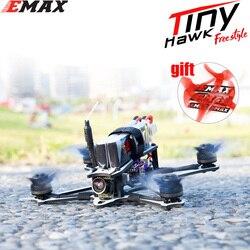 EMAX Tinyhawk Freestyle 115mm 2.5 cala F4 5A ESC FPV wyścigi RC Drone BNF wersja Frsky kompatybilny dron FPV w Samoloty RC od Zabawki i hobby na