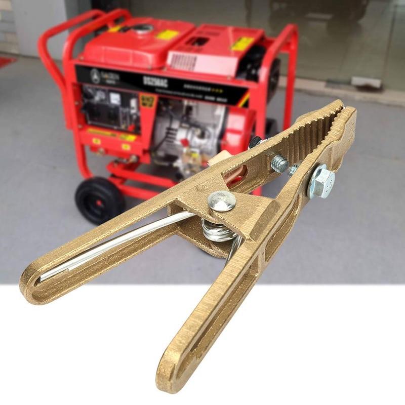 HLZS-Machine Grounding Clamp Argon Arc Welding Machine Brass Grounding Clamp