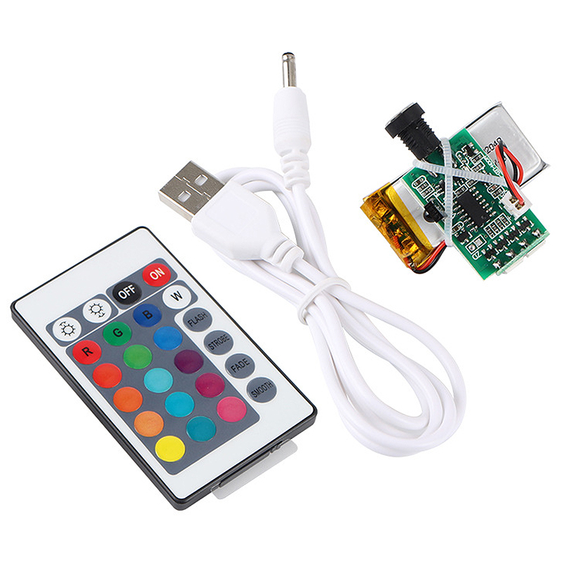 3D Printer Parts Moon Lamp Light Board 16 Colors Remote Control Night Light Circuit LED Light Source USB Charging With Battery