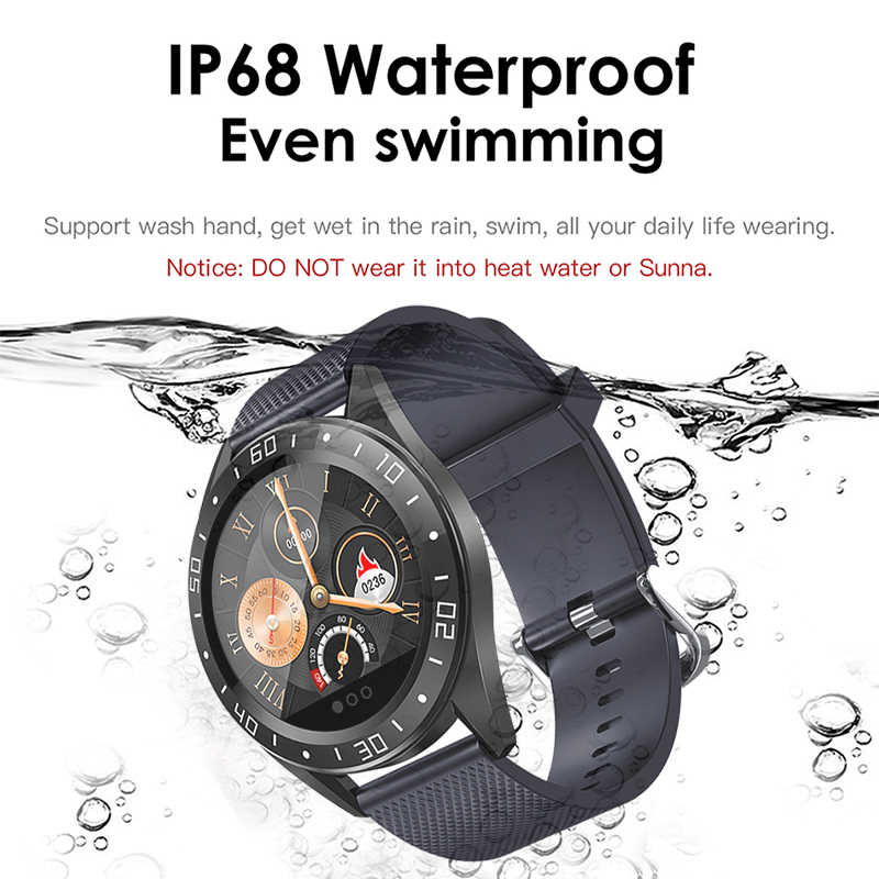LIGE 2019 ใหม่สมาร์ทนาฬิกาผู้ชาย LED Screen Heart Rate Monitor ความดันโลหิตฟิตเนส Tracker กีฬานาฬิกากันน้ำ Smartwatch + กล่อง